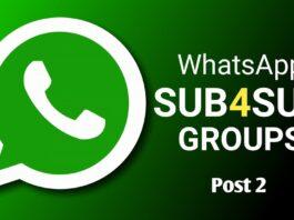 YouTube sub4sub whatsapp group link 2020