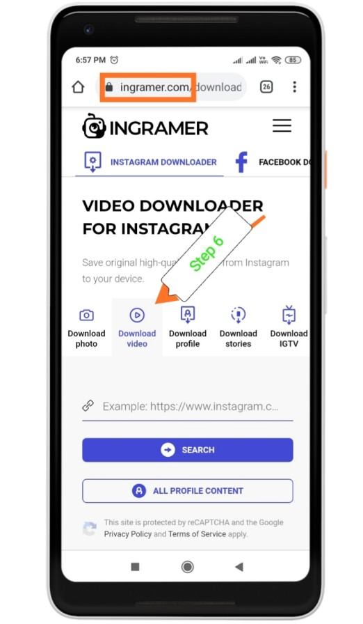 Instagram Reels वीडियो डाउनलोडकरने का तरीका